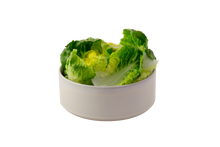 saladier moyen empilable en forme de cylindre — collection de vaisselle modulaire ¿adónde? — stackable salad bowl medium size — diameter 19 cm