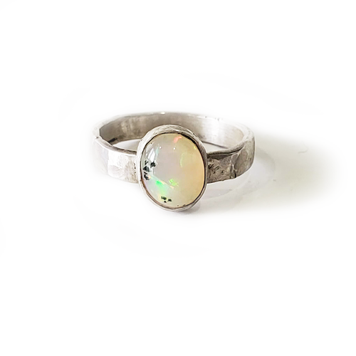 Opal Stacker Ring
