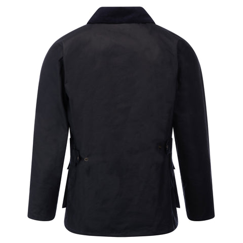 Mens Banbury Wax Jacket Deep Navy