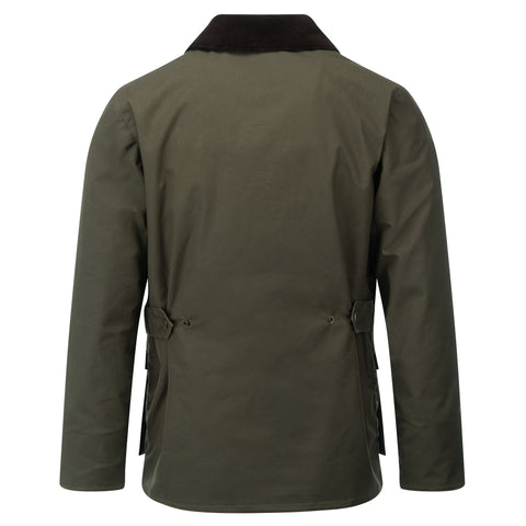 Mens Glastonbury Wax Jacket Olive