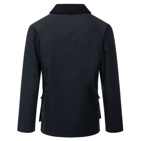 Mens Glastonbury Wax Jacket Navy