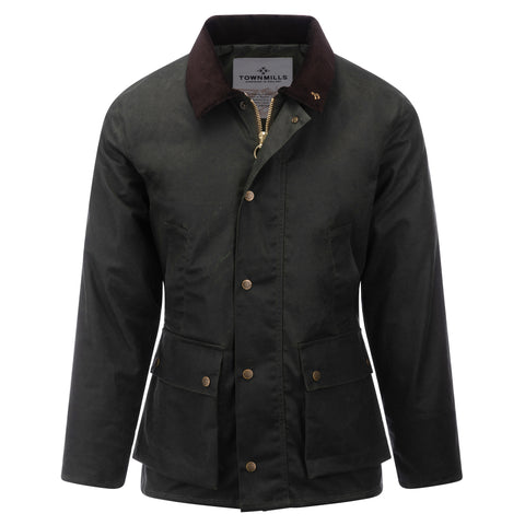 Mens Banbury Wax Jacket Olive