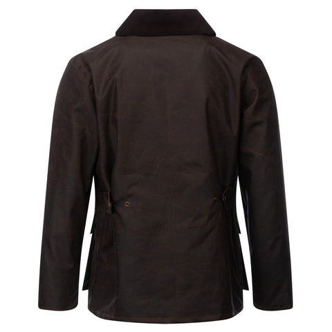 Mens Banbury Wax Jacket Brown