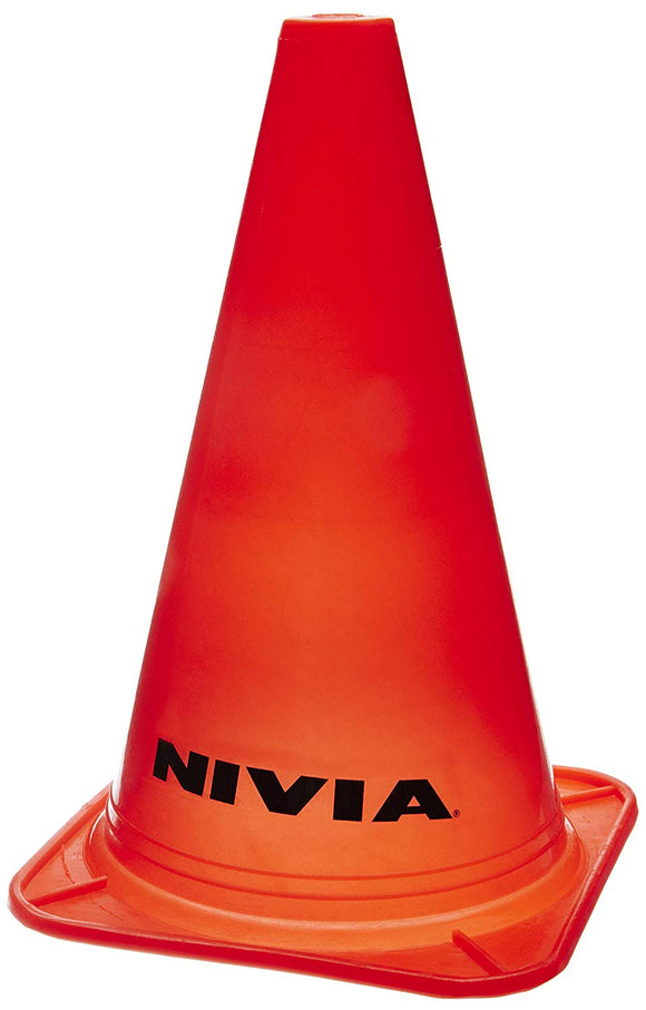 NIVIA 'Marking Cones' (6 pcs.) Available in bright, attractive colours of yellow, green and red. Manufactured by the reputed brand Nivia. Weather resistant and durable