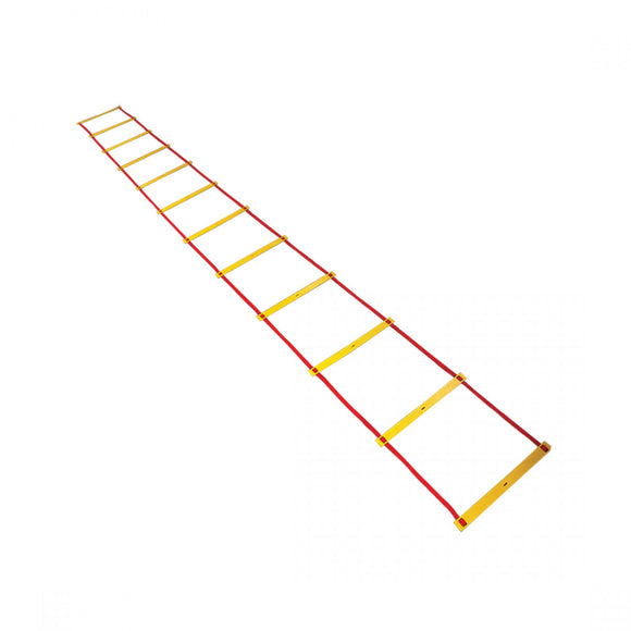 NIVIA 'Speed Leader' 12ft. Speed ladder from Nivia. Use for training purposes. Improves coordination of speed and legs exercise. In-Box Contents: 1 Speed Ladder. Product comes in Assorted Color
