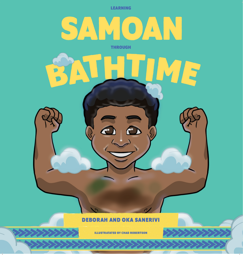 Learning Samoan through Bathtime