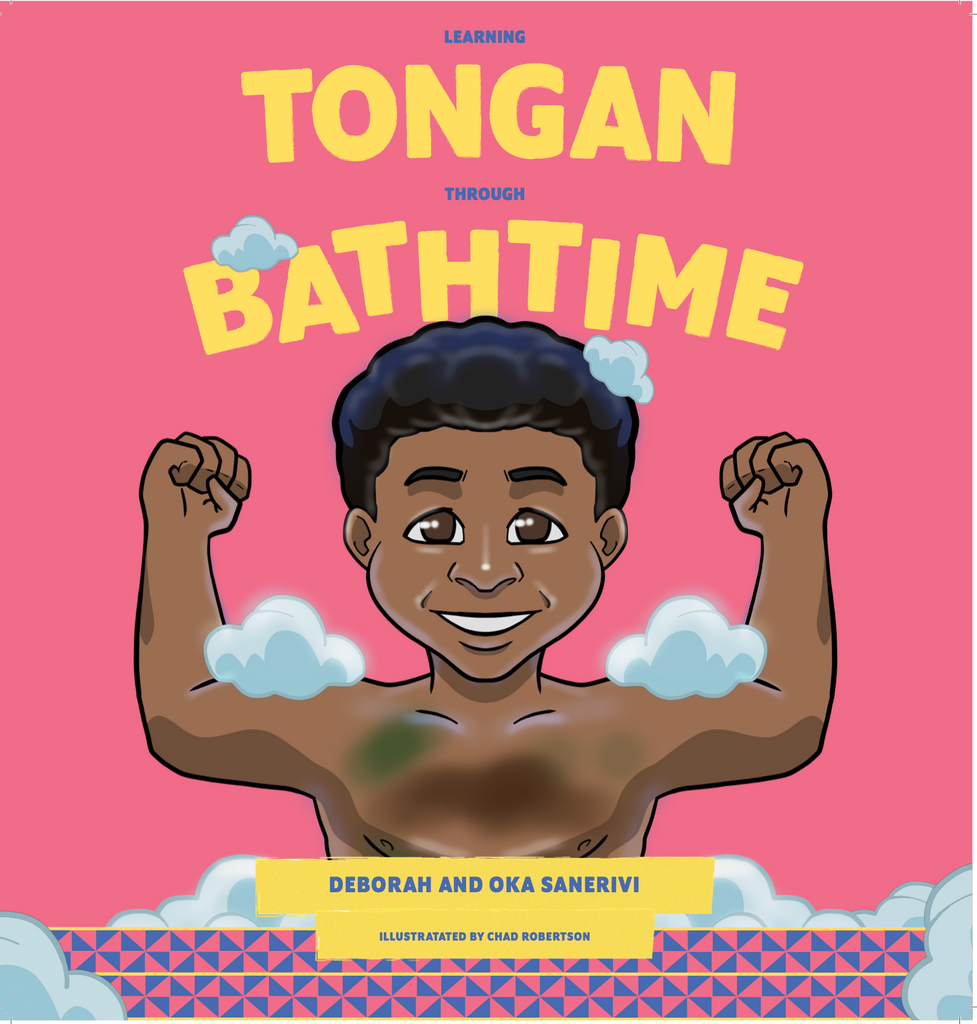 Learning Tongan through Bathtime