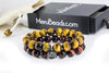 12mm Tiger's Eye Double Bracelet for Men - MeruBeads