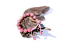 Rhodonite Mala Beads Bracelet for Women