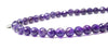 Faceted Amethyst Wrap Bracelet