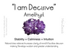 "Amethyst Mala Beads Necklace - ""I am Decisive"" - MeruBeads"