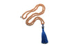 Lapis Mala beads Necklace