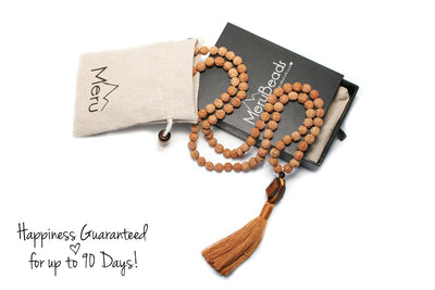 Tiger's Eye Mala Necklace
