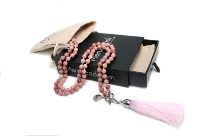 Rhodonite Mala Jewelry