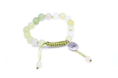 Green Quartz Bracelet for Women - MeruBeads