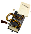 Tiger's Eye Mala Necklace with Removable Tassel