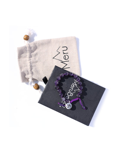 Amethyst Bracelet for Women - MeruBeads
