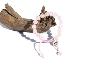 Rose Quartz Bracelet for Women - MeruBeads