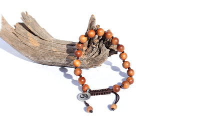 Sandalwood Mala Bracelet for Women