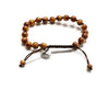 Sandalwood Mala Bracelet for Men - MeruBeads
