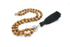 Sandalwood Pocket Mala - 54 Beads Mini Mala