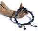 Tiger's Eye Blue Mala Bracelet for Men