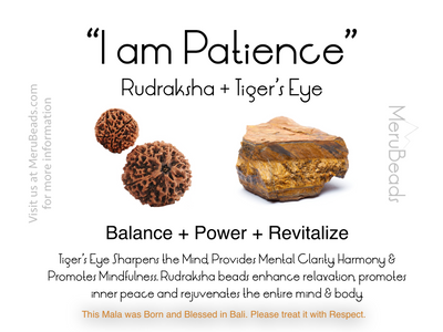 Tiger's Eye Mantra Card