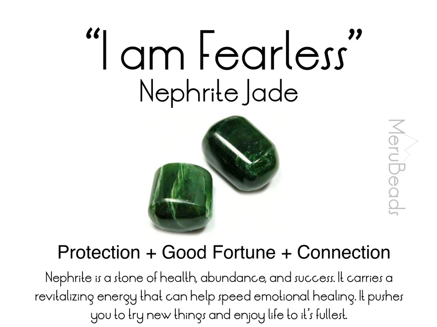 Nephrite Jade Bracelet for Women