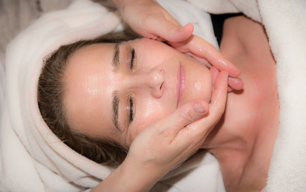 anti aging face massage