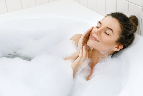 avoid hot baths in winter