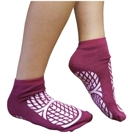 ILS Red Non Slip Socks