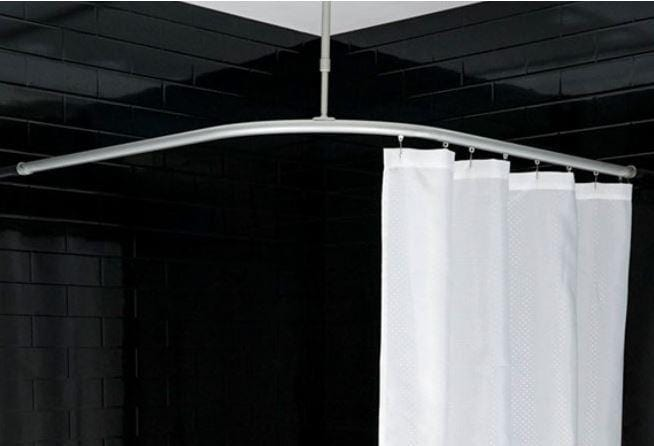SQUIP SuperTrack Shower Curtain Track
