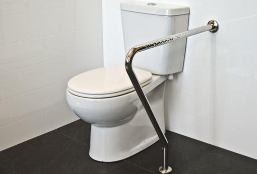 SQUIP Stainless Steel Toilet Support Safety Rail