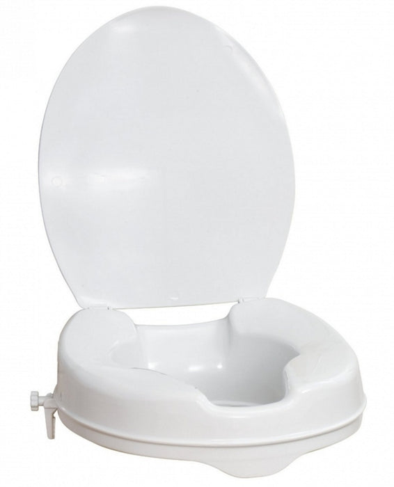 ILS Raised Toilet Seat with Lid - 2 Inches