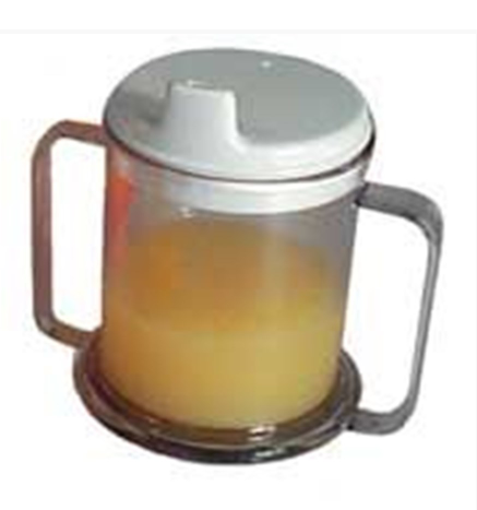 AM Mug - Double Handled with Lid