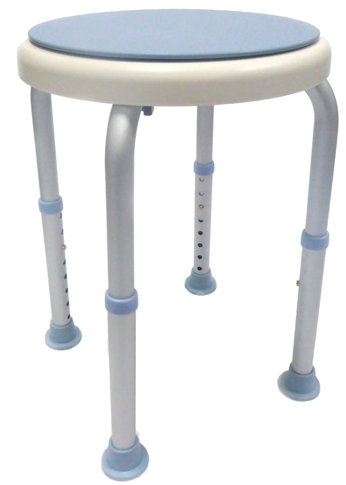 GOLD Shower Stool - Swivel