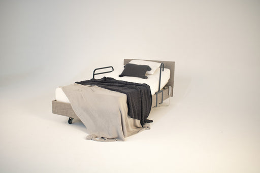 SLEEP Bed Package IC333 Stone Long Single with Medium Mattress