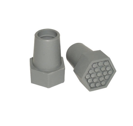 CUB Walking Stick Tip - Hexagon Base 22mm