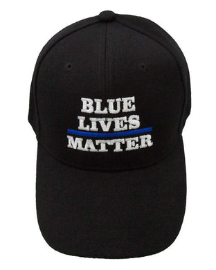 Blue Lives Matter Hat - FREE Shipping/Handling