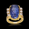 Natural Ceylon No Heat Blue Sapphire Ring