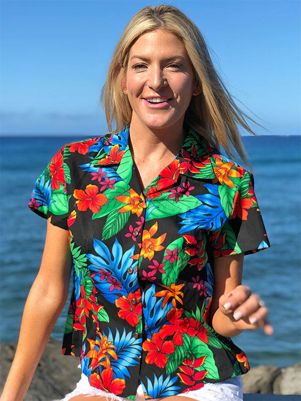 Women's Fitted Hawaiian Shirts