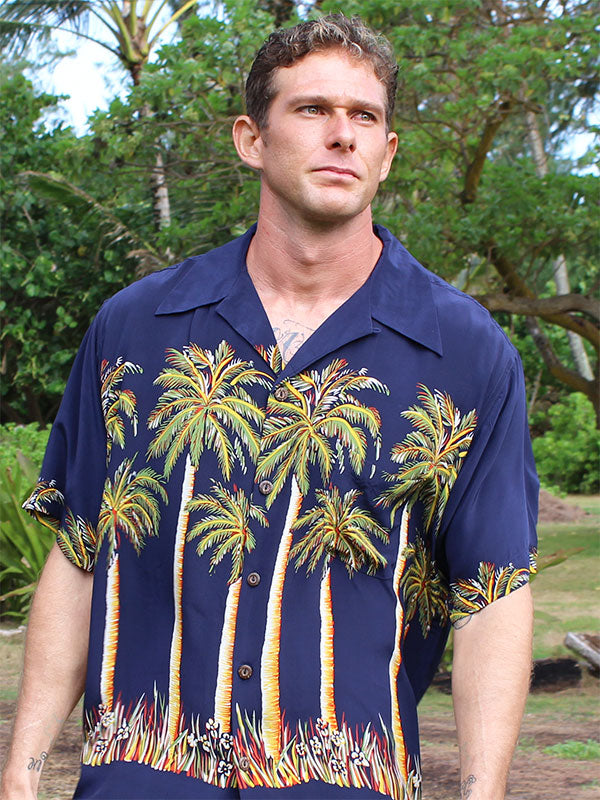Retro & Vintage Print Hawaiian Shirts