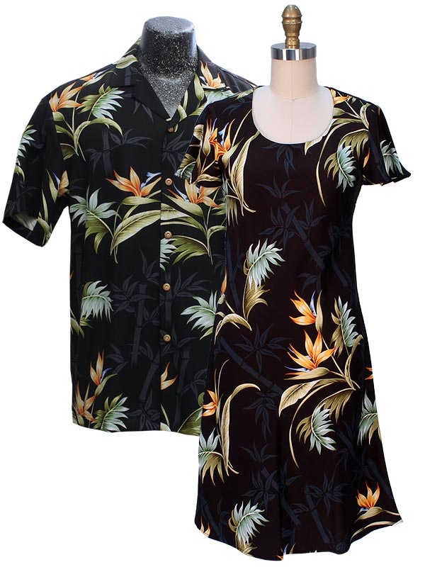 Bamboo Paradise Hawaiian Shirts and Dresses