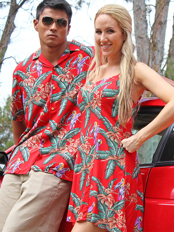 Magnum PI (All Prints) Matching Shirts & Dresses