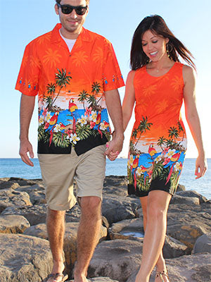 Parrot Island Shirts and Dresses