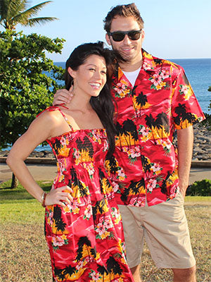 Diamond Head Sunset Shirts and Dresses