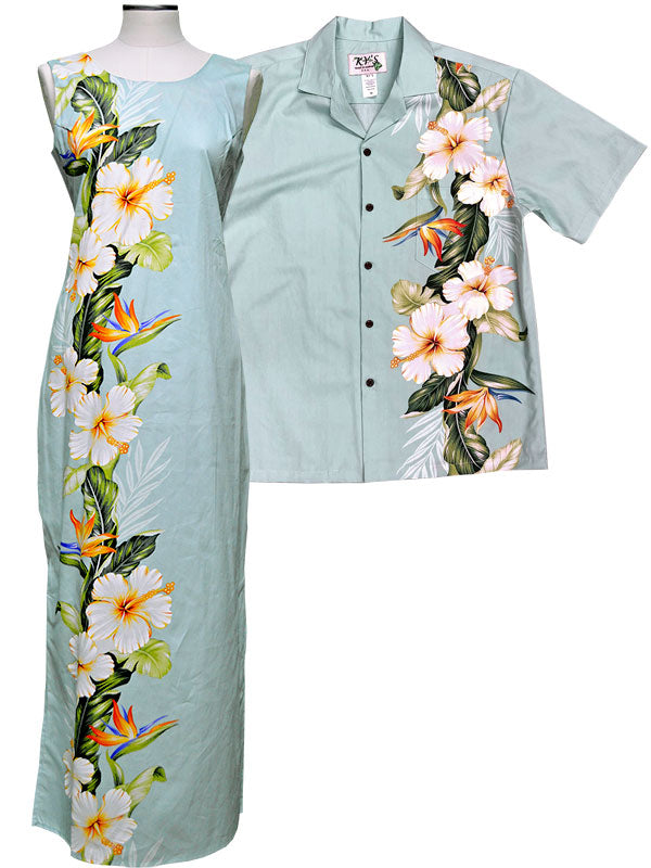 Hibiscus Paradise Shirts and Dresses
