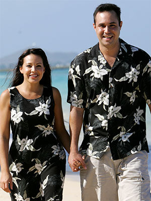 Kahala Orchid Shirts and Dresses
