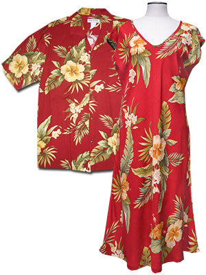 Hana Hibiscus Shirts and Dresses