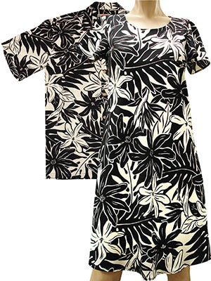 Tahitian Garden Shirts and Dresses